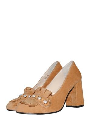 Туфлі світло-коричневі | 5524879