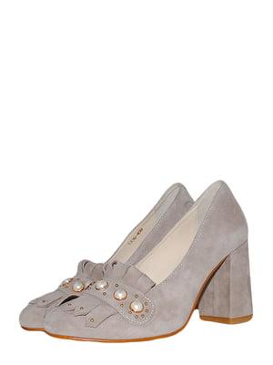 Туфлі кавового кольору | 5524880