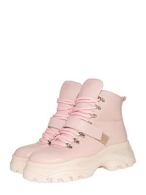Ботинки пудрового цвета | 5526174
