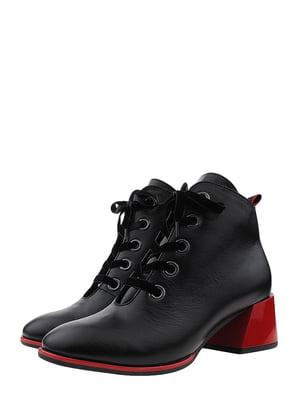 Ботинки черно-красные | 5507982