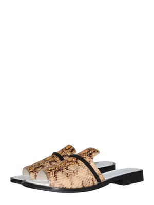 Шльопанці пісочного кольору | 5514425