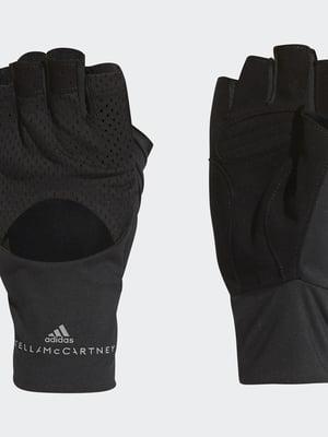 Перчатки спортивные черные | 5527329