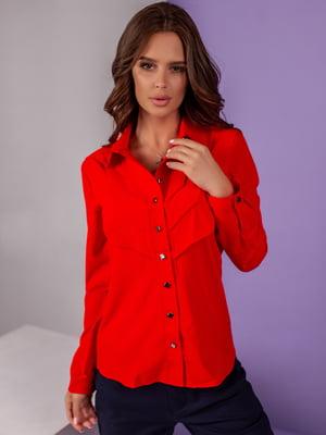 Сорочка червоного кольору | 5527563