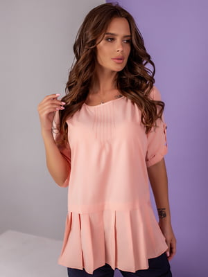 Блуза кольору пудри   5527566