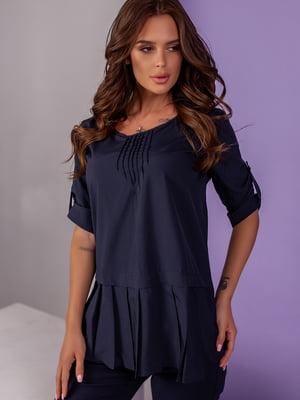 Блуза синя | 5527568