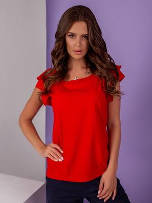 Блуза червона | 5194011