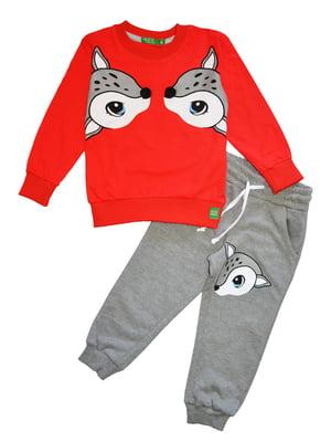 Костюм: джемпер і штани | 5528045