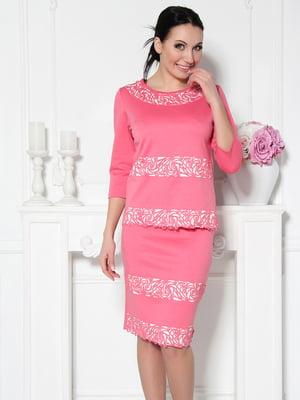 Костюм: блуза і спідниця   5530177