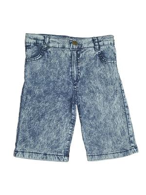 Шорты джинсовые синие | 5530918