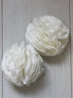 Резинка для волос цвета молока | 5530957
