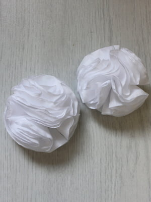 Резинка для волос белая | 5530959