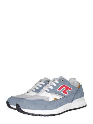 Кросівки блакитного кольору з логотипом | 5519644