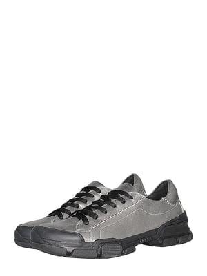Кросівки сталевого кольору | 5530304