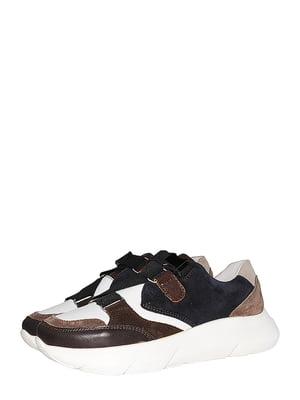 Кроссовки коричневые   5530307