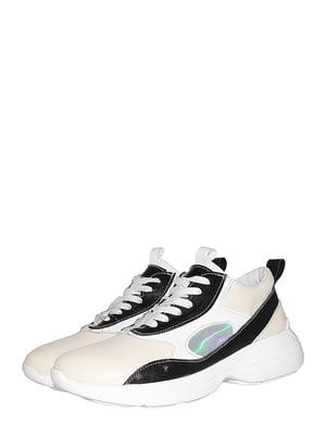 Кроссовки молочного цвета   5530320