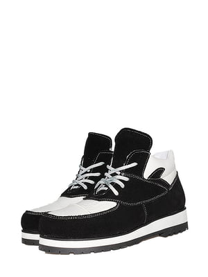 Ботинки черно-белые | 5530990