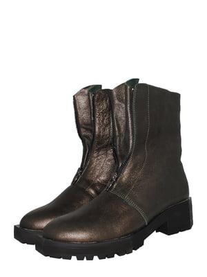Ботинки цвета хаки | 5530998