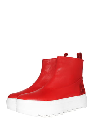 Ботинки красного цвета | 5531001