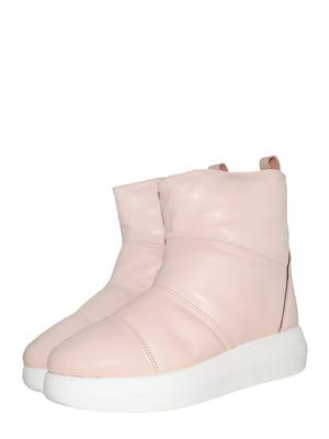Ботинки цвета пудры | 5531004