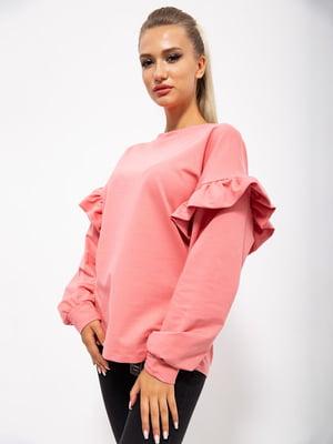 Джемпер розовый   5530536