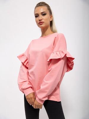 Джемпер розовый   5530537