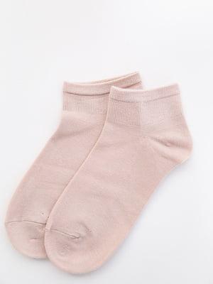 Шкарпетки кольору пудри   5530602