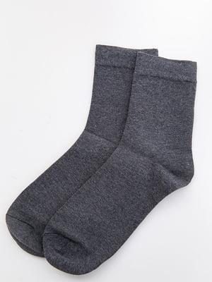 Носки серые | 5530616