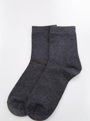 Носки серые | 5530619