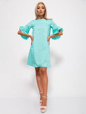 Сукня м'ятного кольору | 5530651