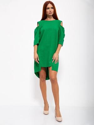 Платье зеленое | 5530691