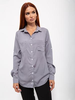 Рубашка серая | 5530757