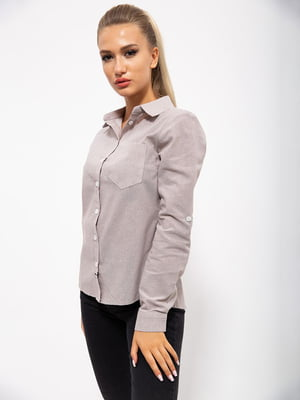 Рубашка цвета мокко | 5530794