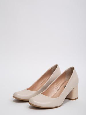 Туфлі бежеві | 5530798
