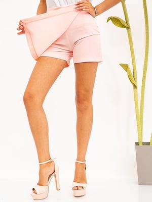 Шорти-спідниця рожевого кольору | 5530857