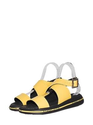 Босоніжки жовті   5530971