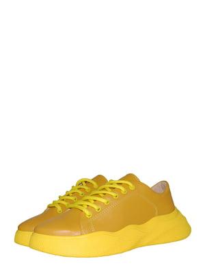 Кросівки гірчичного кольору   5530983