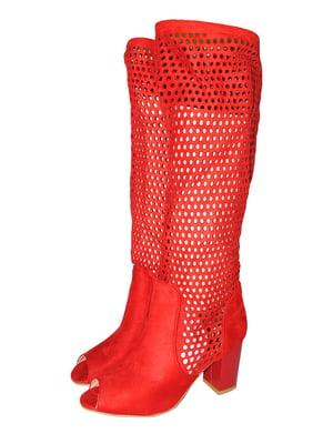Сапоги красного цвета | 5521950