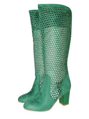 Чоботи зелені | 5521952