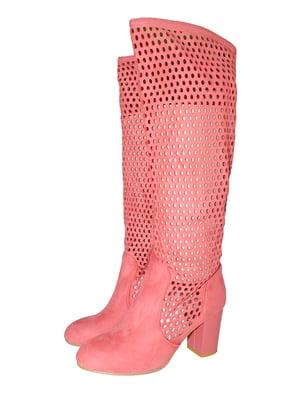 Чоботи рожеві | 5521955