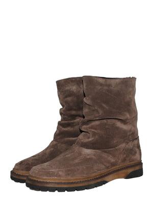 Ботинки коричневые | 5531006