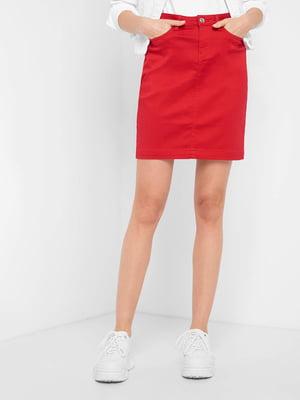 Спідниця червоного кольору | 5529088