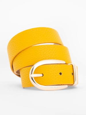 Ремень желтый | 5529096