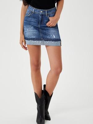 Спідниця синя джинсова   5529204