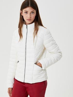Куртка светло-молочного цвета | 5529212