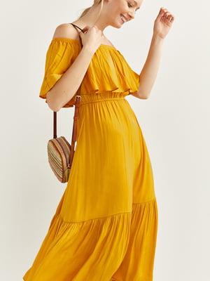 Сукня гірчичного кольору | 5531296