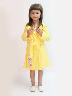 Халат желтый | 5531359