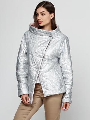 Куртка рожево-сріблястого кольору   5531398