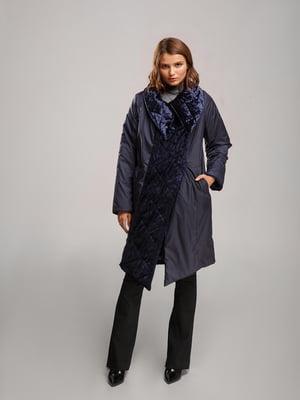 Пальто синее | 5531418