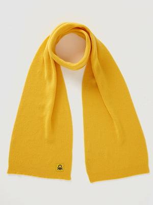 Шарф желтый | 5520433