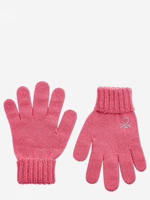 Перчатки розовые | 5520439